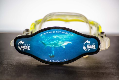 Project AWARE Mask Strap 2014 Hammerhead